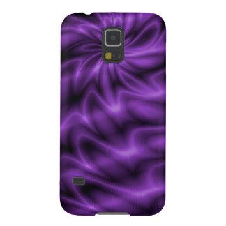 Remolino de la lila funda galaxy s5