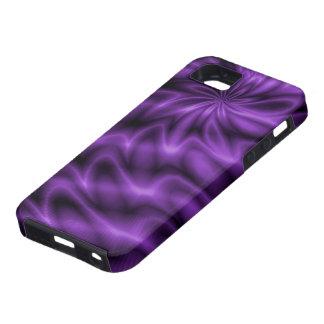 Remolino de la lila iPhone 5 fundas