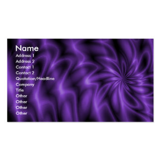 Remolino de la lila plantillas de tarjetas personales