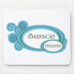 Remolino de la mamá de la danza tapetes de raton