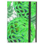 Remolino de la menta verde, modelo verde abstracto