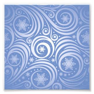remolino de la plata en el azul, modelo del fotografías
