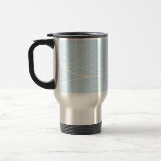 Remolino de la sinfonía taza de café