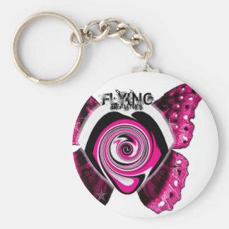 Remolino de las rosas fuertes por FlyingBeauties Llavero Redondo Tipo Pin
