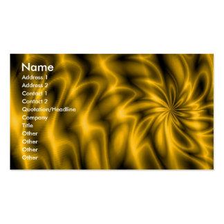 Remolino de oro plantillas de tarjetas de visita