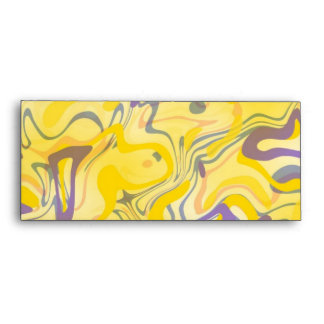 Remolino del amarillo del sobre