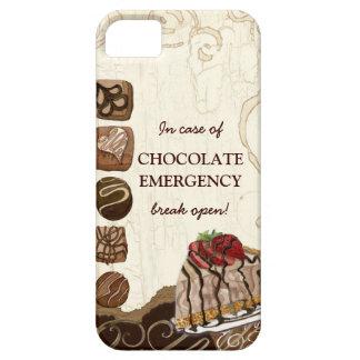 Remolino del caramelo de la fresa de la emergencia iPhone 5 carcasas