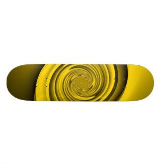 Remolino del oro tablas de patinar
