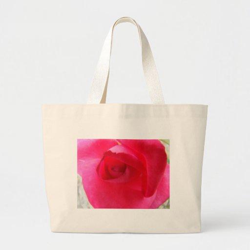 Remolino del rosa bolsas de mano