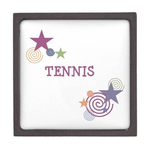 Remolino del tenis caja de regalo de calidad