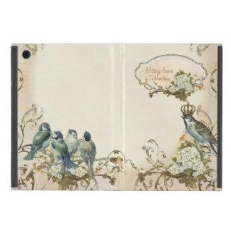 Remolino encantado de la paloma de los pájaros del iPad mini coberturas