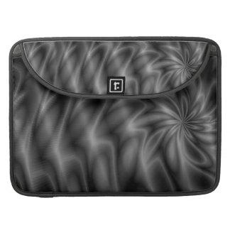 Remolino gris funda para macbook pro