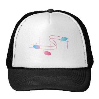 Remolino musical gorra
