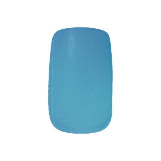 Remolino oscuro de Ombre de las azules turquesas Arte Para Uñas