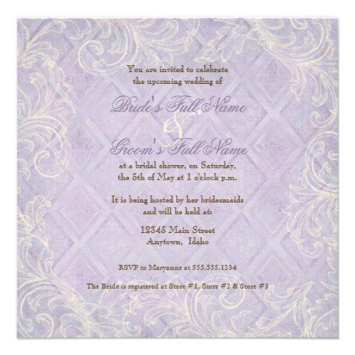 Remolino púrpura del Hydrangea - ducha nupcial flo Anuncios