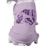 Remolino púrpura Terrier galés Camisas De Mascota