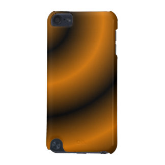 Remolino redondo anaranjado y negro