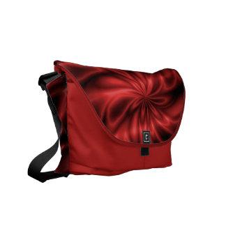 Remolino rojo bolsas de mensajeria