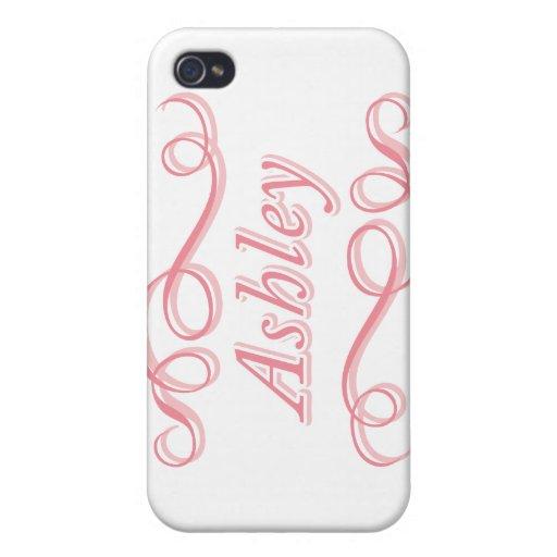 Remolino rosado Ashley iPhone 4 Cobertura