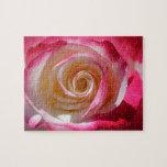 Remolino rosado del rosa puzzles