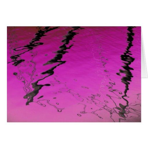 Remolino rosado felicitaciones