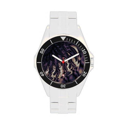 Remolino siniestro relojes de mano