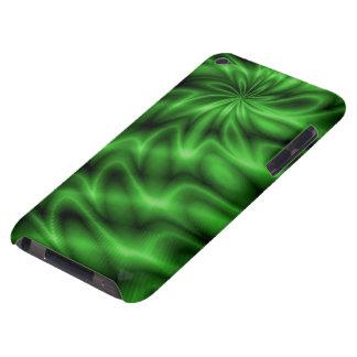 Remolino verde iPod touch Case-Mate coberturas