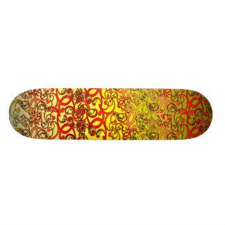 Remolinos a bordo patines personalizados