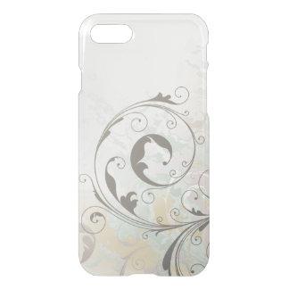Remolinos abstractos de la plata de la fantasía funda para iPhone 7
