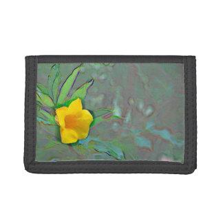 remolinos amarillos del extracto de la flor