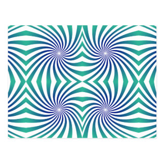 Remolinos azulverdes tarjetas postales