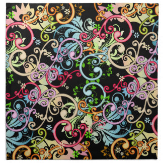 Remolinos coloridos servilleta
