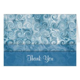 Remolinos con playas del azul: Gracias tarjeta de