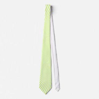 Remolinos de la cal corbatas personalizadas