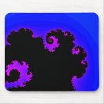 Remolinos de la púrpura - Mousepad Tapetes De Ratones