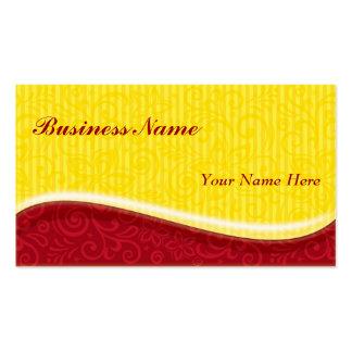 remolinos de la sol plantillas de tarjeta de negocio