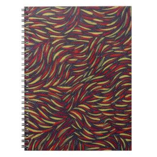 remolinos del color primario libros de apuntes