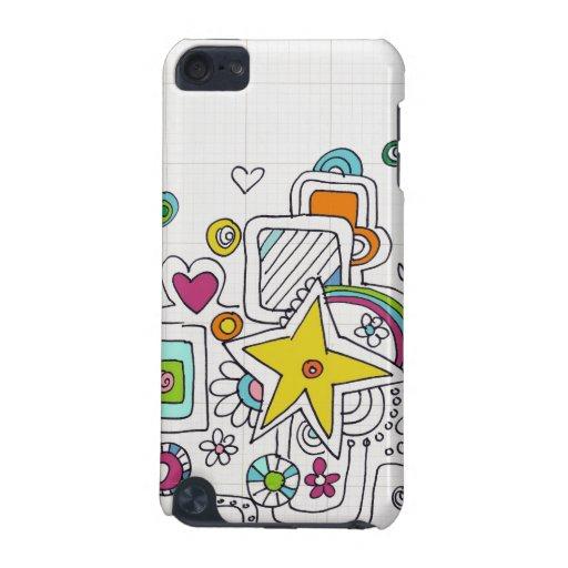 remolinos del doodle funda para iPod touch 5G