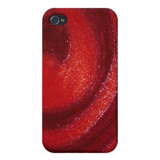 Remolinos del esmalte de uñas iPhone 4/4S carcasa