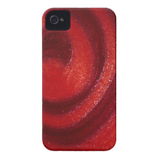 Remolinos del esmalte de uñas iPhone 4 Case-Mate coberturas