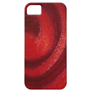 Remolinos del esmalte de uñas iPhone 5 funda