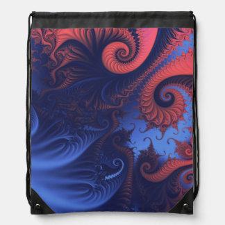 Remolinos del fractal mochilas
