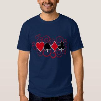 Remolinos del póker remera