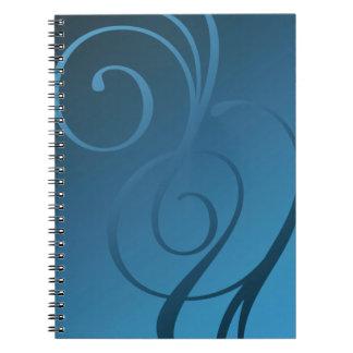 Remolinos del reflejo - 28 opciones de color libros de apuntes