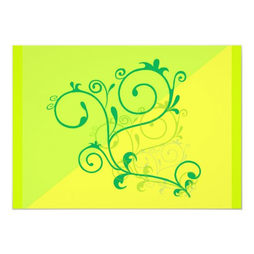 remolinos digitales de la cal del limón de invitaciones personales