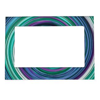 Remolinos e imán del marco de la foto de los giros marcos magneticos de fotos