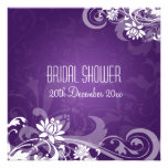 Remolinos florales de la ducha nupcial elegante pú anuncios