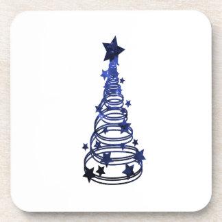Remolinos n blue png abigarrado estrella del árbol posavasos de bebidas