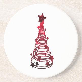 Remolinos n red png abigarrado estrella del árbol posavasos para bebidas