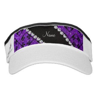 Remolinos púrpuras del diamante del brillo del